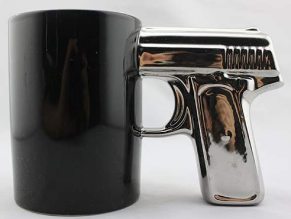 Pistol Gun Mug