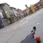 Talon GoPro Mounted On Skatebaord