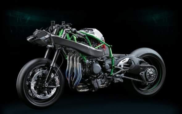 2015 Kawasaki Ninja H2R Cutaway