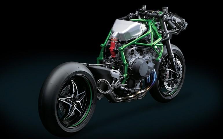 2015 Kawasaki Ninja H2R Frame