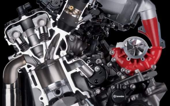 2015 Kawasaki Ninja H2R Engine