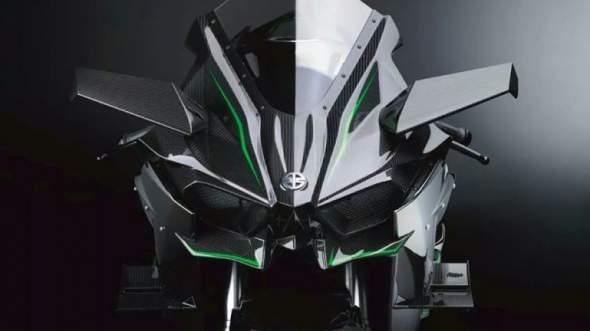 2015 Kawasaki Ninja H2R Front