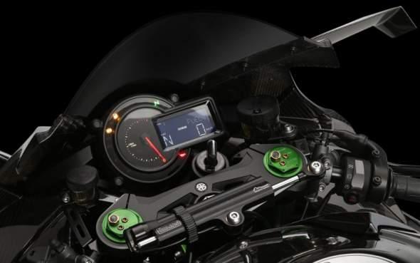 2015 Kawasaki Ninja H2R Gauges