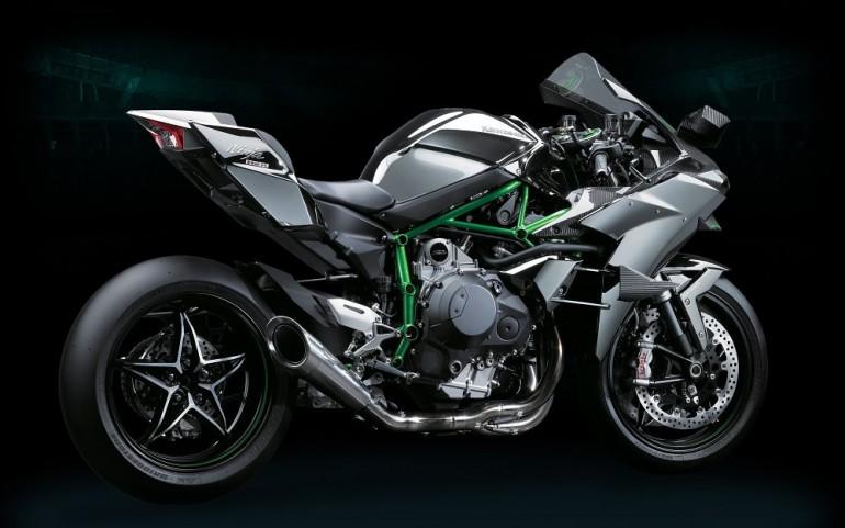 2015 Kawasaki Ninja H2R Side