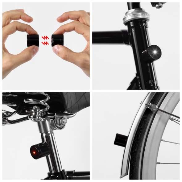 Lucetta Magnetic Bike Light