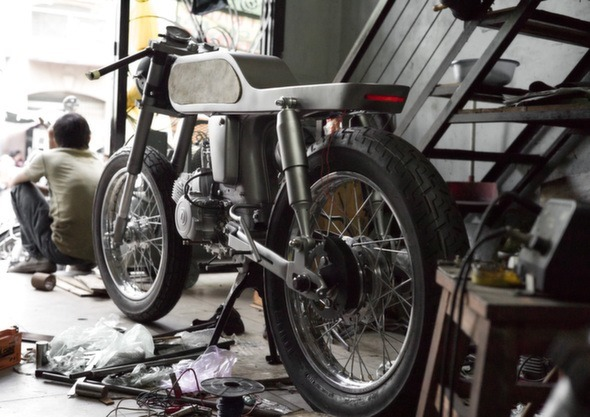 Bandit9 Bishop Motorcycle Build Update 2 rear
