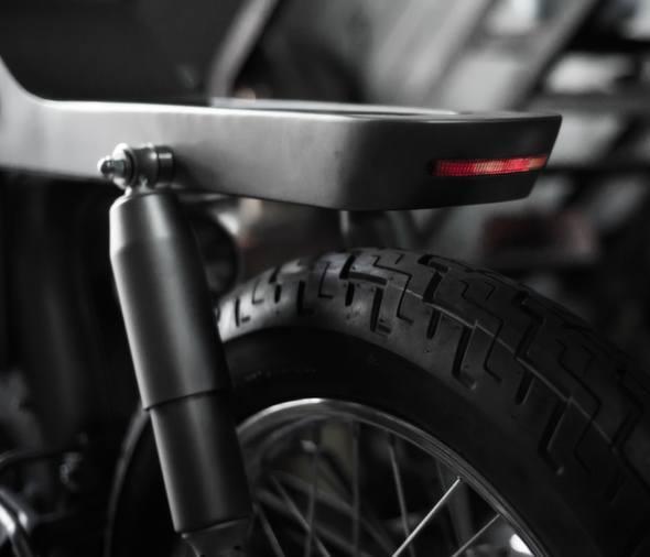 Bandit9 Bishop Motorcycle Build Update 2 tail light