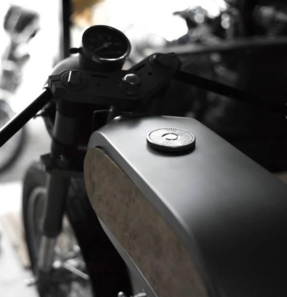 Bandit9 Bishop Motorcycle Build Update 2 tank