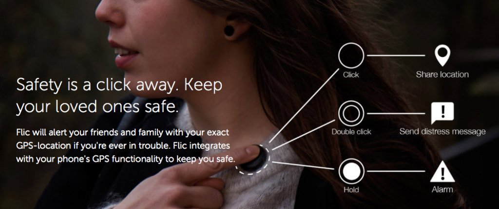 Flic Safety Button