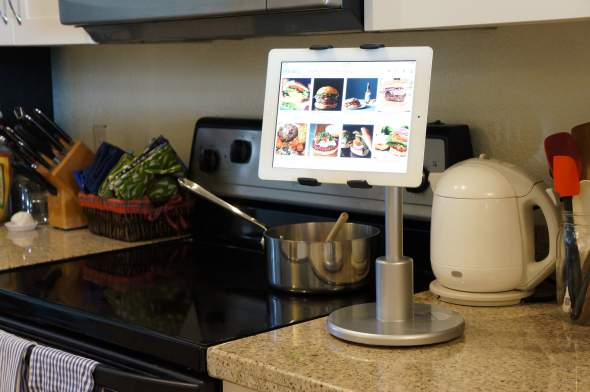 Flote Orbit Tablet Stand Kitchen Horizontal