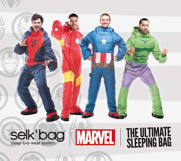 Superhero Wearable Sleeping Bag