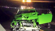 2015 Dodge Challenger SRT Hellcat Crash
