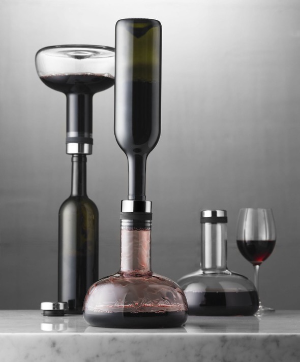Menu WineBreather Carafe Decanter