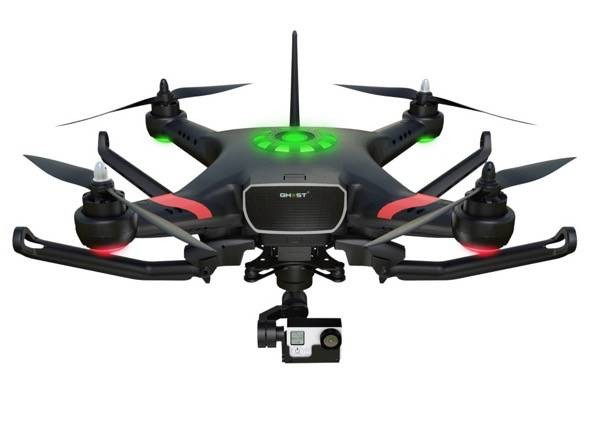 GHOST+ with Morpheus H3D-360 landing gear up
