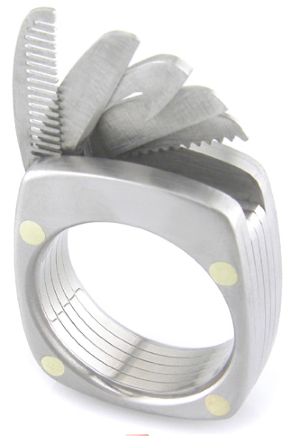 The Man Ring Multitool Ring