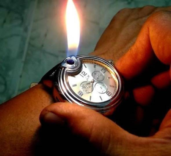Butane Watch Lighter