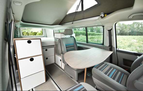 bettmobil Van Interior