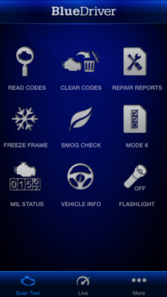 Lemur BlueDriver App
