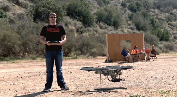 Quadcopter Machine Gun
