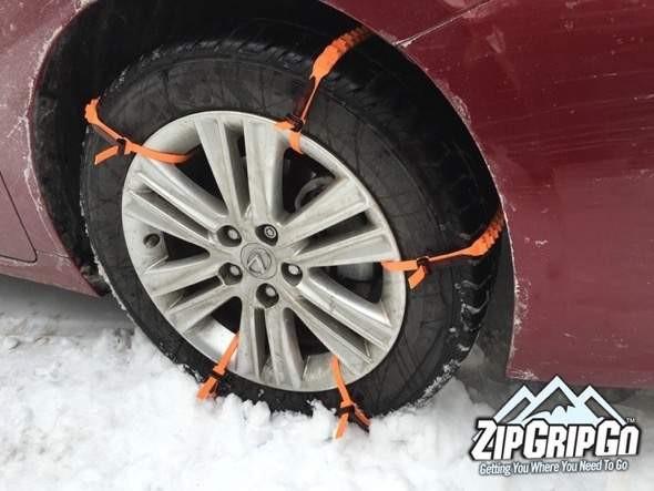Zipgripgo Zip Tie Tire Chains Gadgetking Com