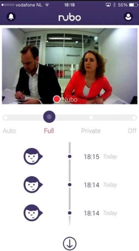 Panasonic Nubo App