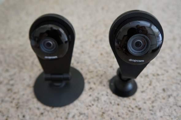 Pop Mount Dropcam Pro Front Comparison