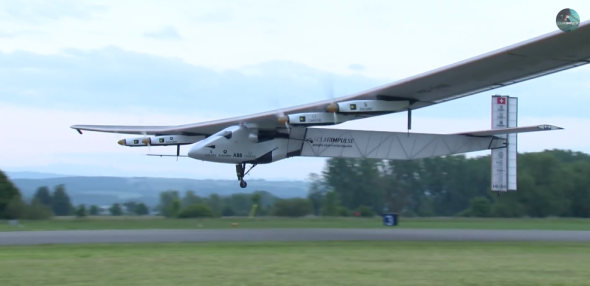 Solar Impulse 2 Airplane