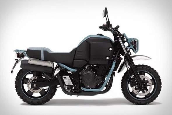 Honda Bulldog Motorcycle