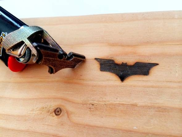 Batman Bic Lighter Branding Iron