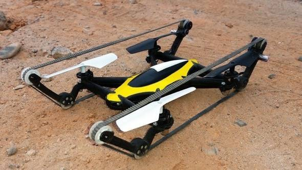 b-unstoppable Qudcopter Tank RC