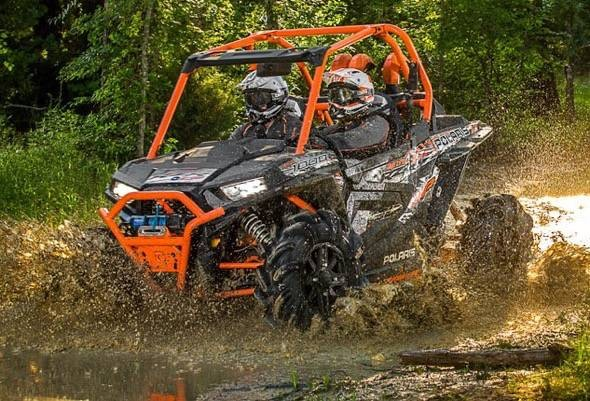 Polaris RZR XP 1000 High Lifter Edition Mudding