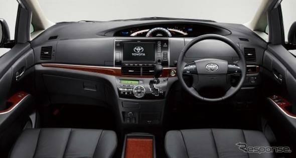 2014 Toyota Estima Dash