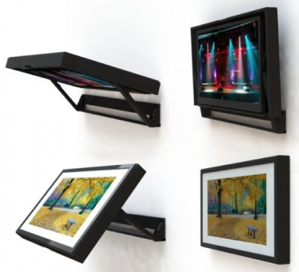 FlipAround TV Mount With Artwork