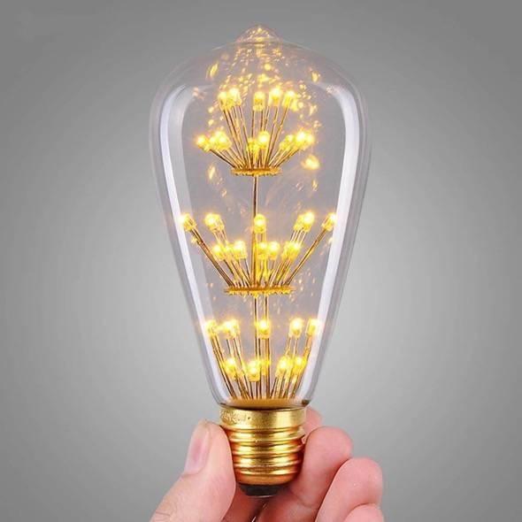 Retro LED lightbulb