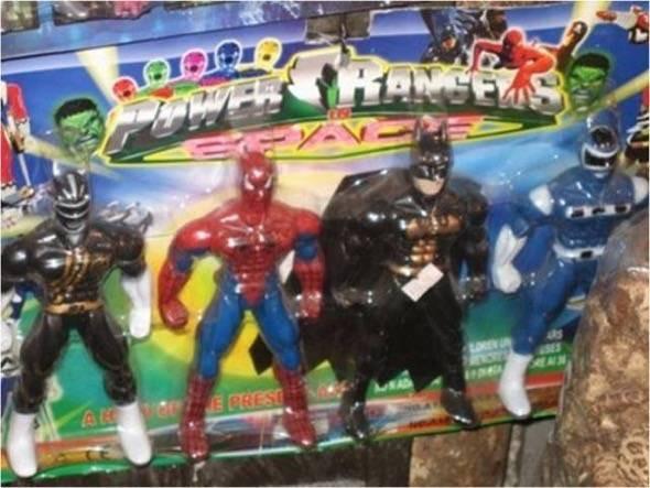 China Power Rangers