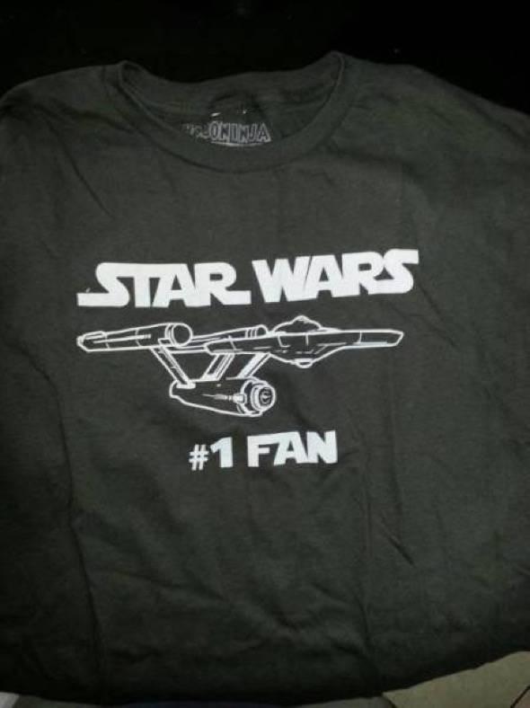 Start Wars #1 Fan