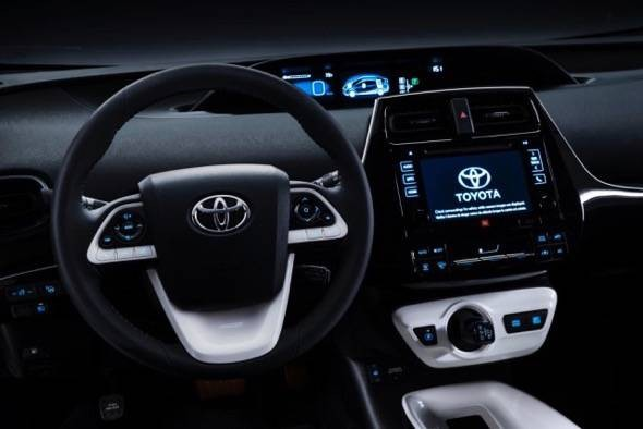 2016 Toyota Prius Dash
