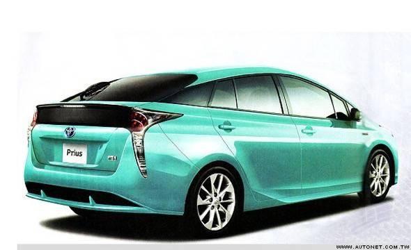 2016-Toyota-Prius-Drawing