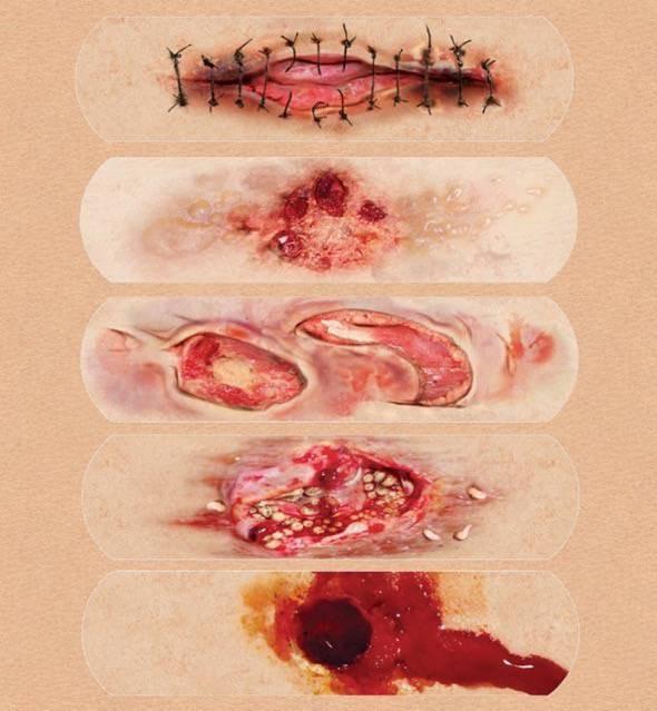 Boo-Boos Fake Wound Adhesive Bandages