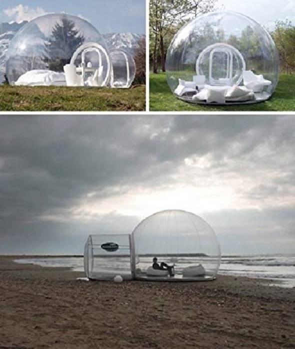 Holleyweb Clear Dome Tent
