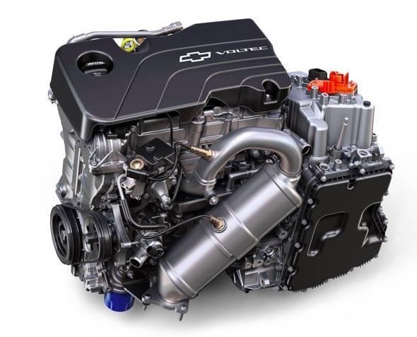 2016 Chevy Volt Engine