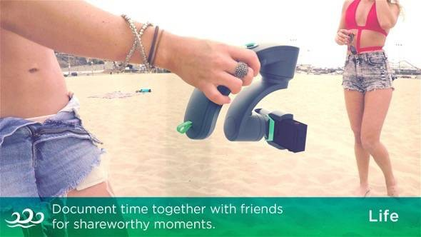 Aeon GoPro Stabilizer 3-axis gimbal