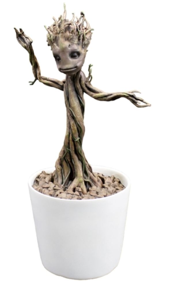Life Size Dancing Groot Motion Statue
