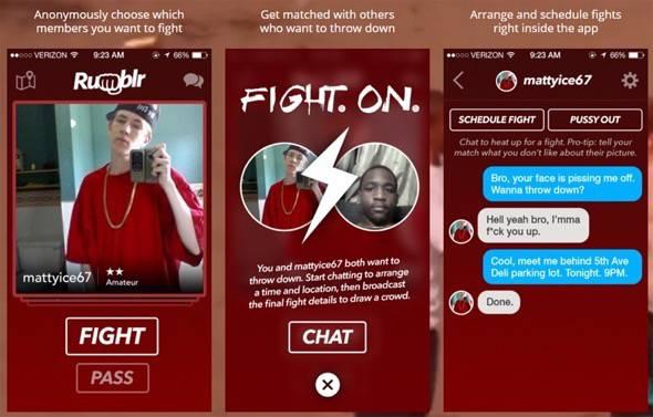 Rumblr Fight App