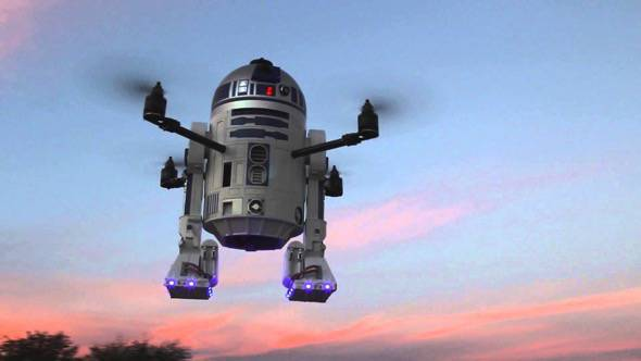 R2D2 Quadcopter Drone