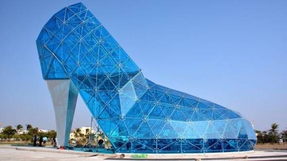 Glass Shoe Church Building