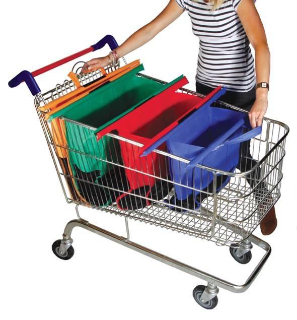 Magic Shopping Cart Bags