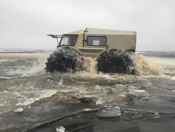Russian SHERP ATV FLOATS