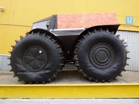 SHERP ATV Tire Wrinkle