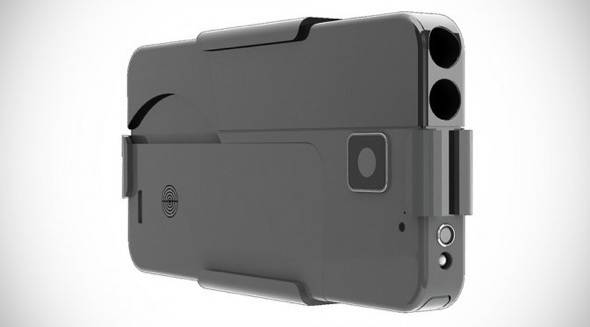 Ideal-Conceal-Double-Barrel-.380-Caliber-Smartphone-Pistol